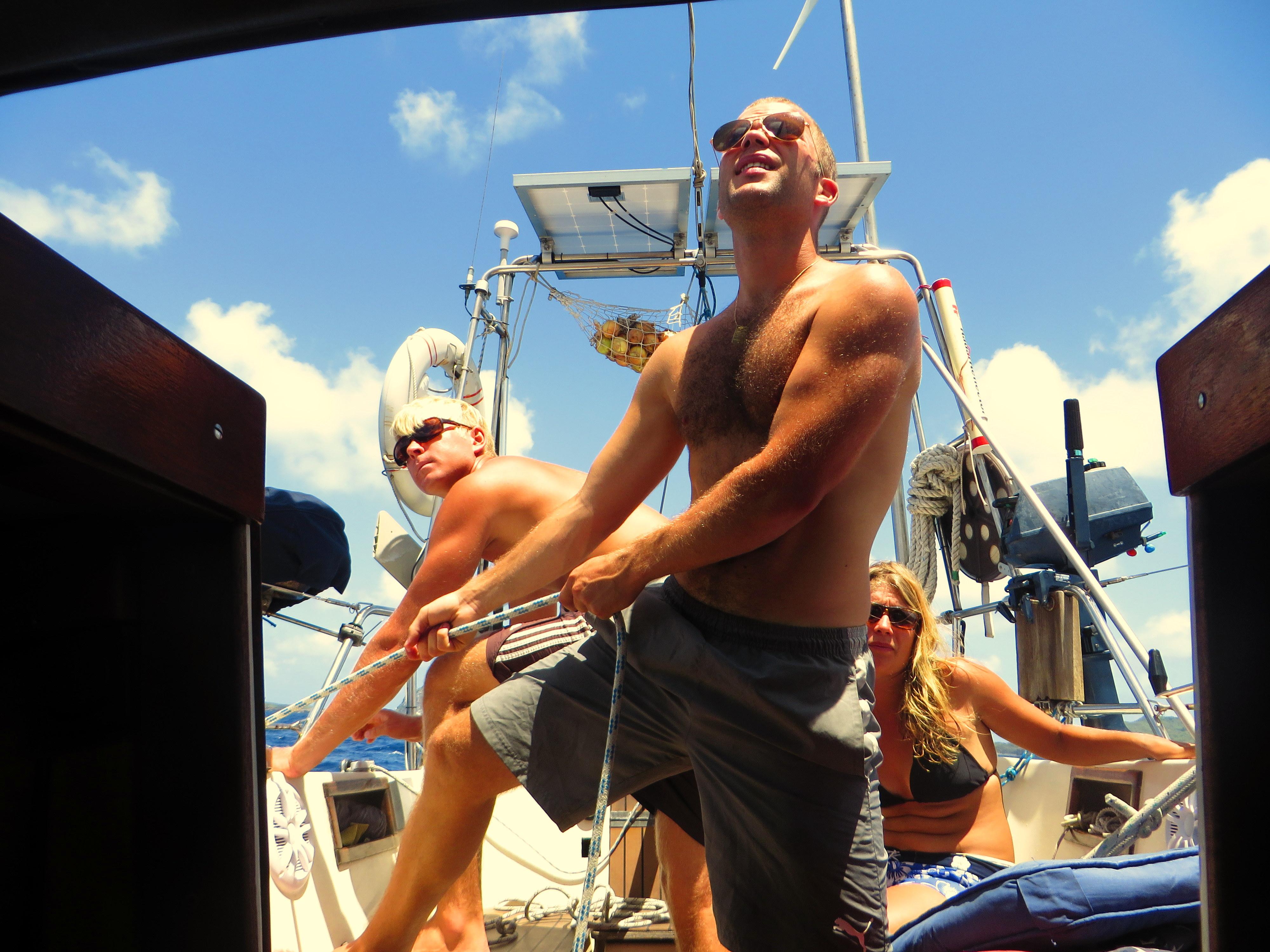 segla i karibien paying crew